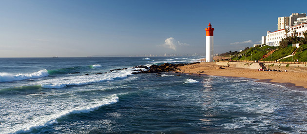 Durban Beaches - Hints and Tips on the Best of Durban's Beaches to the North of the City